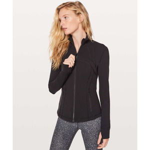 Lululemon Black Full Zip Luon Active Jacket